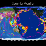 Earthquakes on Earth: Earthquake activity in 2010 [Video animation]