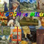 Óleos: Van Gogh Vs Millet