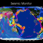 Earthquakes on Earth: Earthquake activity in Jan-Apr 2010 [Video animation]