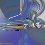 Imágenes de RayTracing: Esferas con Raytracing [ renderizadas con Blender ]
