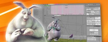 Animación 3D y Software para animación de personajes: Blender