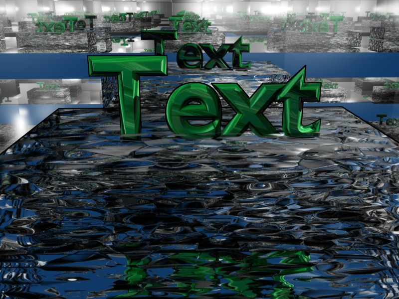 3D Animation, Text: Insert and Edit [Blogs experimental] [Blender