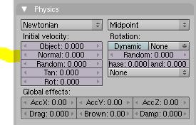 Normal parameters