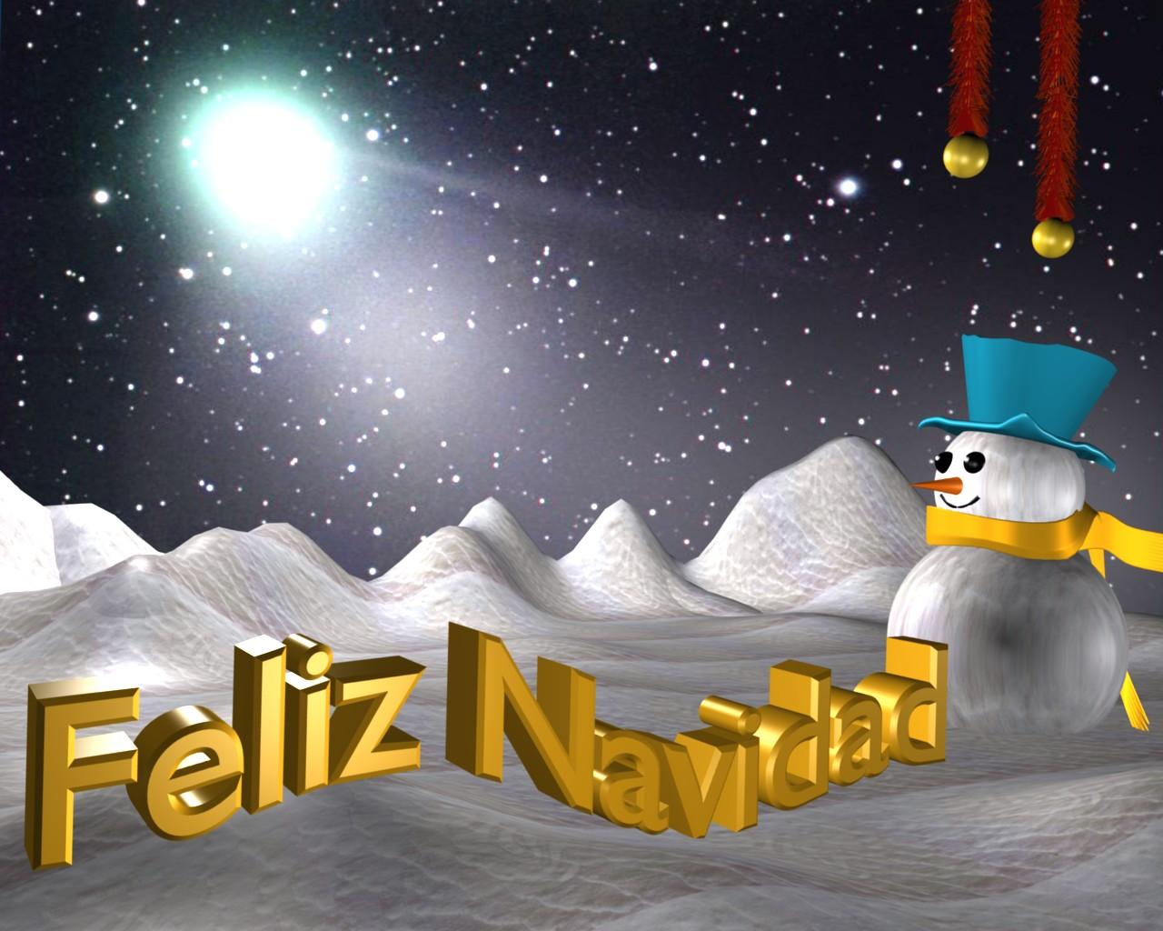 Wallpaper navidad viii alumnos blogs experimentales - Paisaje nevado navidad ...
