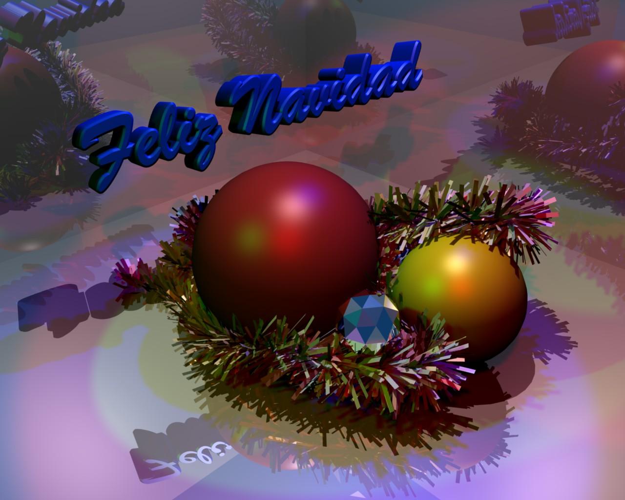 Antonio Arcos Espumillón de Navidad, bolas navideñas y piedra preciosa (diamante) con fondo de espejos