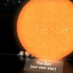 Comparación del tamaño de las estrellas HD