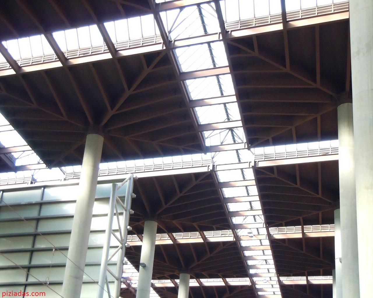 Techo estación Atocha