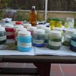 óleo en pigmentos