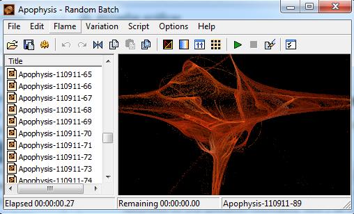 software creazione frattali da