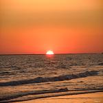 ocaso puesta de sol