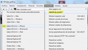 activar, en Agente de usuario, Mobile Safari – iPhone