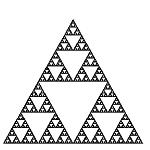 Fractales recursivos: Triángulo de Sierpinski [JAVA]