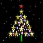 Fondos de escritorio: Navidad 2011 (XIII) : Árbol de navidad figurativo [ Imagen 1280×1024 ]