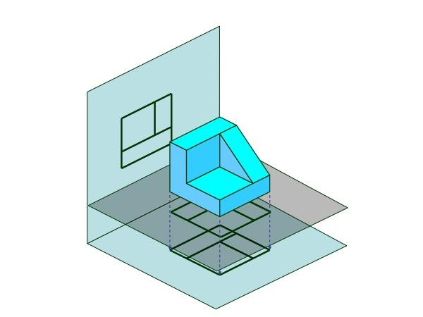 Introducci n al dibujo t cnico normalizaci n piziadas for Plano de planta dibujo tecnico