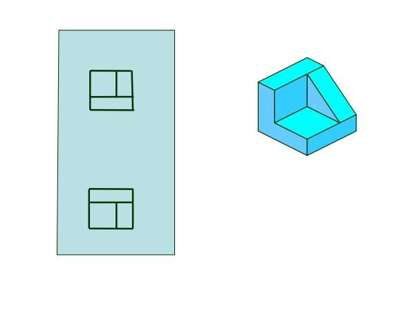 Dibujo técnico de un objeto
