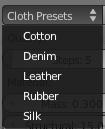 cloth_presets
