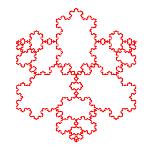 Fractales recursivos: Curva de Koch [JAVA]