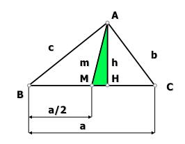 relaciones en el triángulo