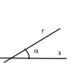ángulo entre dos rectas