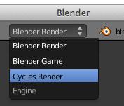 Cycles render