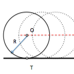 Metric geometry : Determining radio circumferences known angular conditions