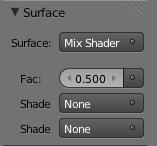 Mix Shaders Selección