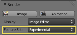 Render experimental