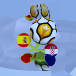 Croacia - España Wallpaper II