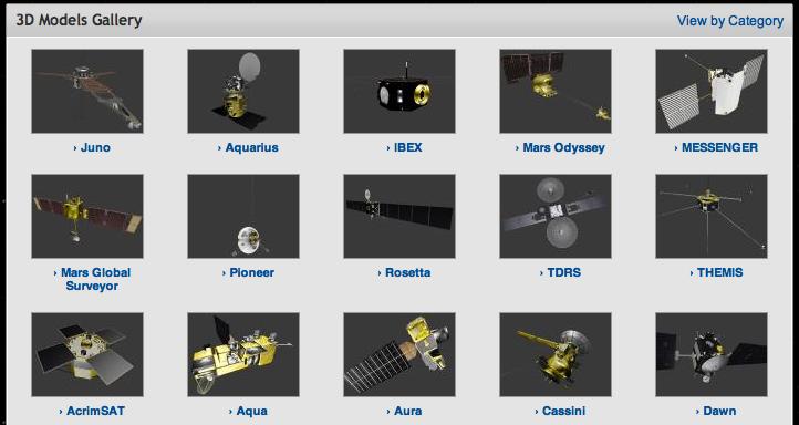 3D Models Gallery