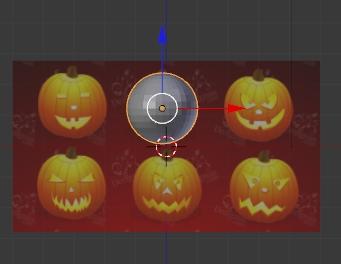 AddUVSphere calabazas de halloween