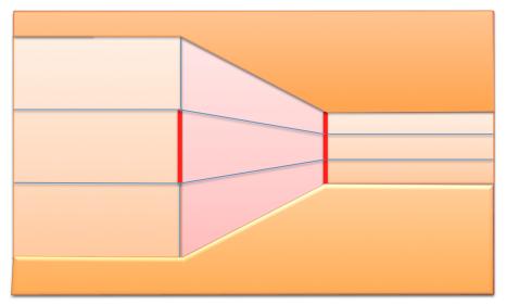 Ilusión óptica con paredes