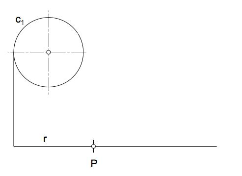 Grafo inicial con los datos del problema