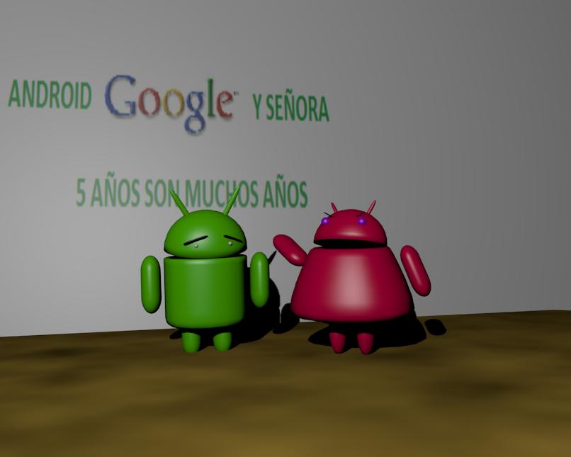 Android Google y señora