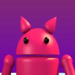 Andy y Dyna en el quinto aniversario de Android
