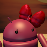 Andy (Android) y su novia (I) [ Alumnos ][ Blender ]