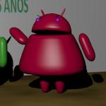 Andy (Android) y su novia
