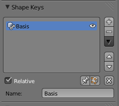 Shape Key Basis