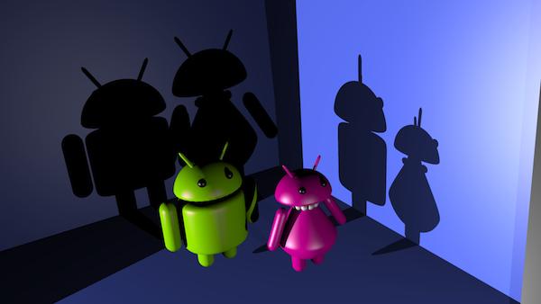Android y su novia
