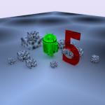 Android cumple 5 años [ Wallpaper ]