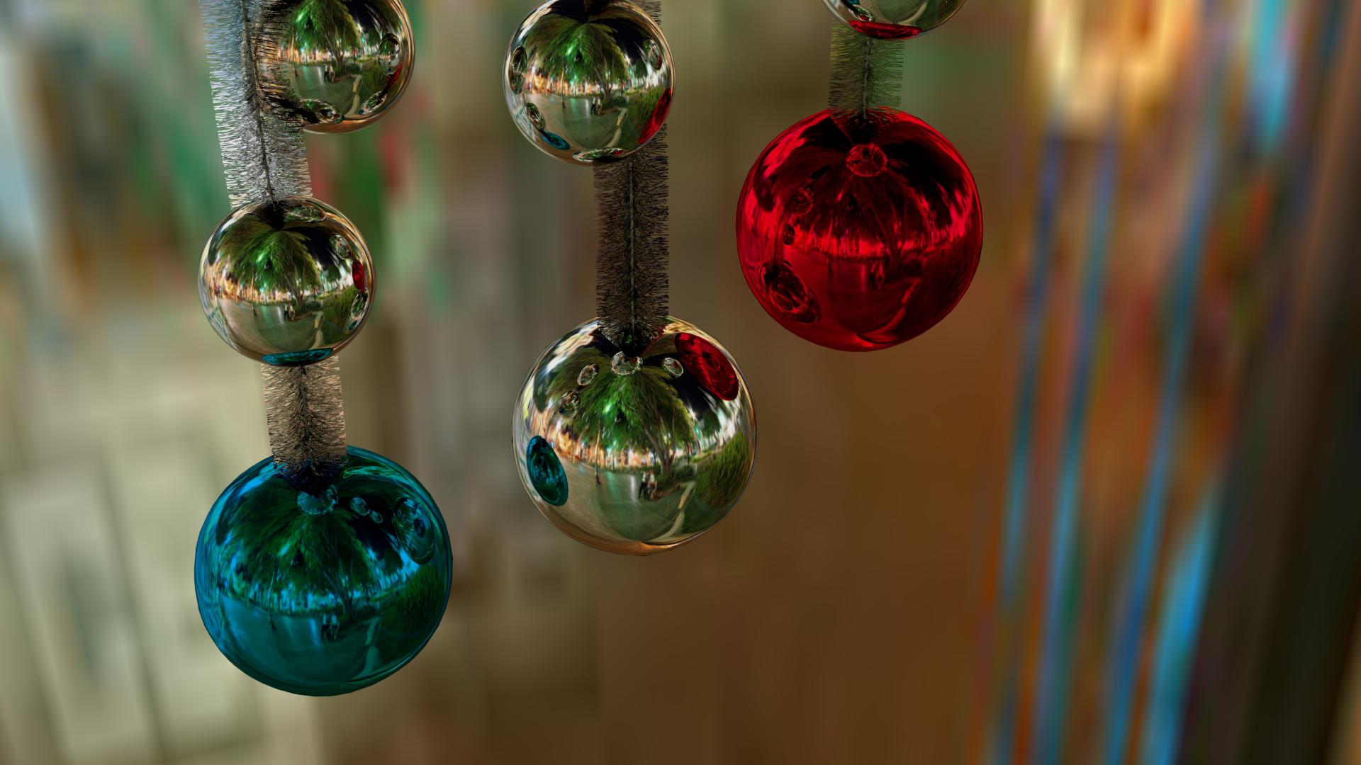 Wallpaper christmas 2012 ix bolas y espumill n de - Bolas de navidad ...