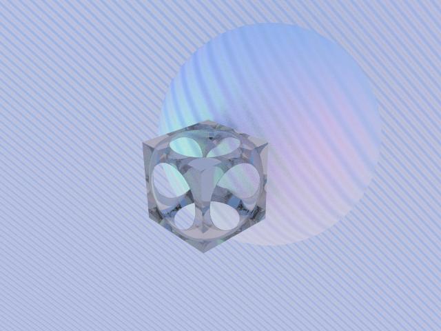 Cube-Sphere y plano