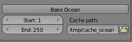Bake ocean
