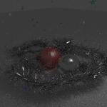 Fondos de escritorio: Navidad 2012 (XXII) : Espumillón de navidad, bolas y estrellas [ Imagen 1280×1024 y HD 1920 x 1080 ]