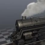 Tren con humo