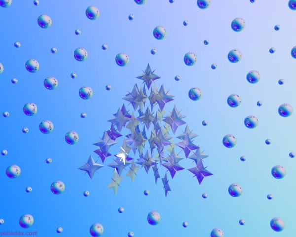Árbol de estrellas y Esferas