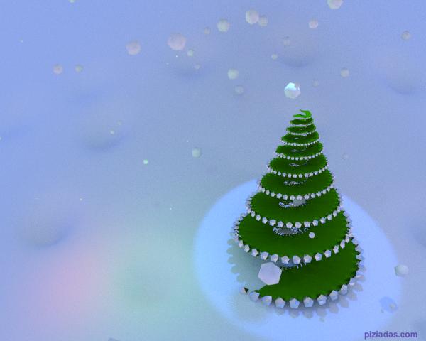 Árbol helicoidal de navidad