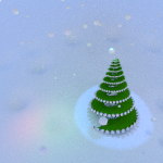 Fondos de escritorio: Navidad 2012 (XXVI) : Árbol de navidad helicoidal [ Imagen 1280×1024 y HD 1920 x 1080 ]