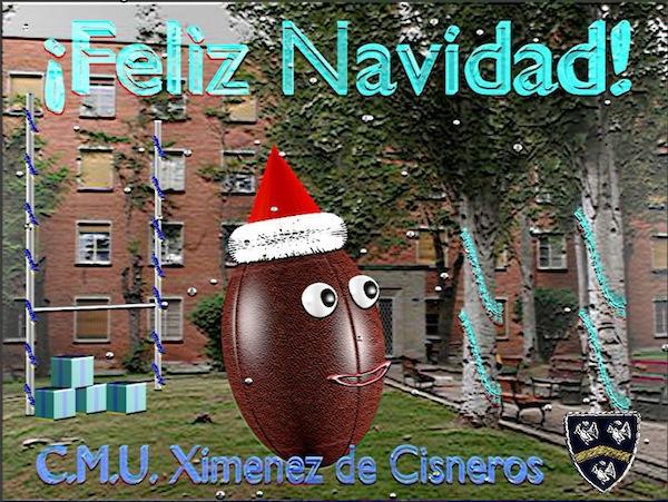 Postal de navidad de Andrés Pérez Castrillo
