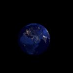 Noche : GIF animado de la Tierra