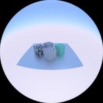 Animación 3D, Parámetros de la Cámara : Lens [ Blogs experimentales ] [ Blender ]